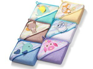 BabyOno: Πετσέτα με κουκούλα 100 x 100