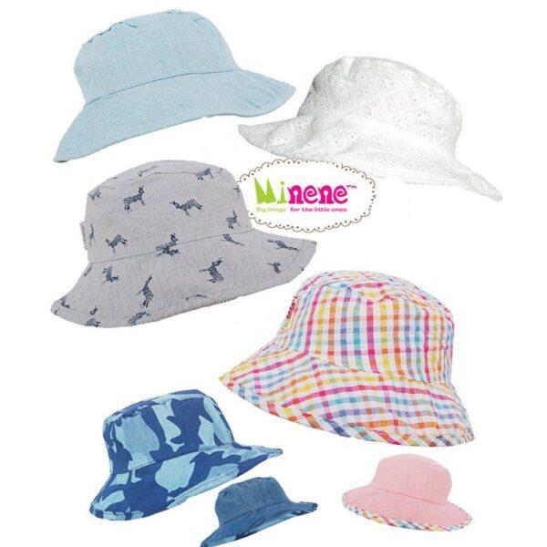 Καλοκαιρινά Καπέλα Minene 2 όψεων