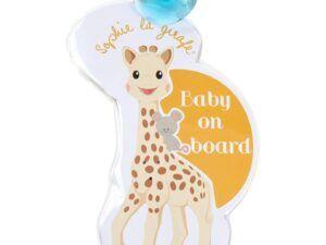 Σόφι καμηλοπάρδαλη Baby on Board σήμα με φωτάκια