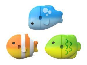 COLOUR MIX FISH 3PK