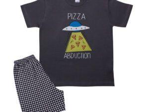Pizza Κοντομάνικη Παιδική Πυτζάμα